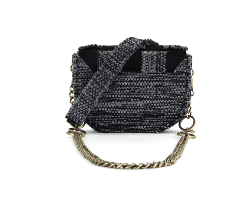 Kooreloo Shoulder Bag Pixel Orbit - Black Pony