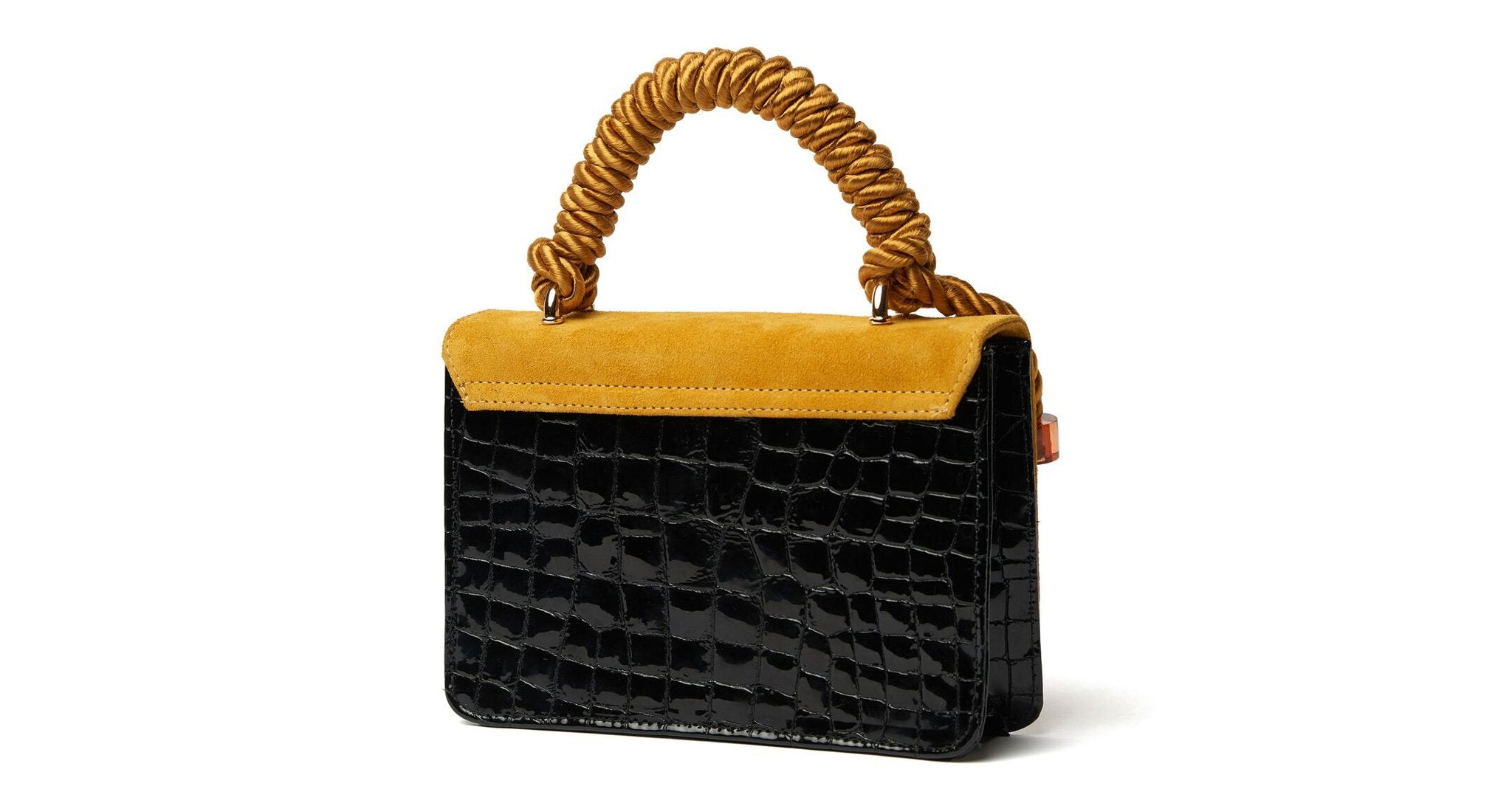 Lizzie Fortunato Beatrice Purse - Crystal Croc