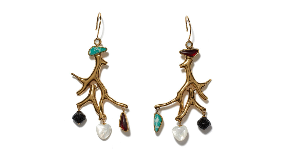 Lizzie Fortunato Lagoon Earrings