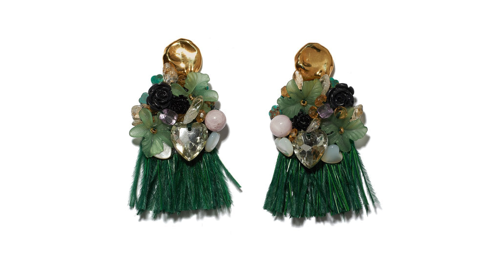 Lizzie Fortunato Palazzo Earrings