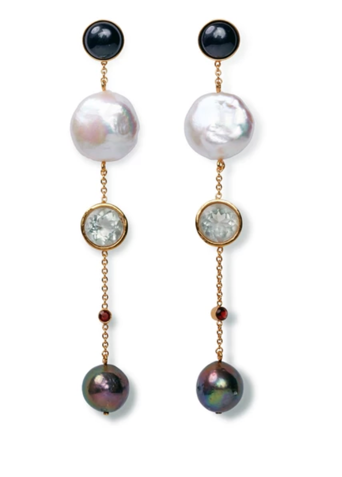 Lizzie Fortunato Bon Vivant Earrings