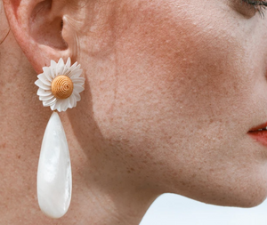 Fresh Cut Daisy Earrings
