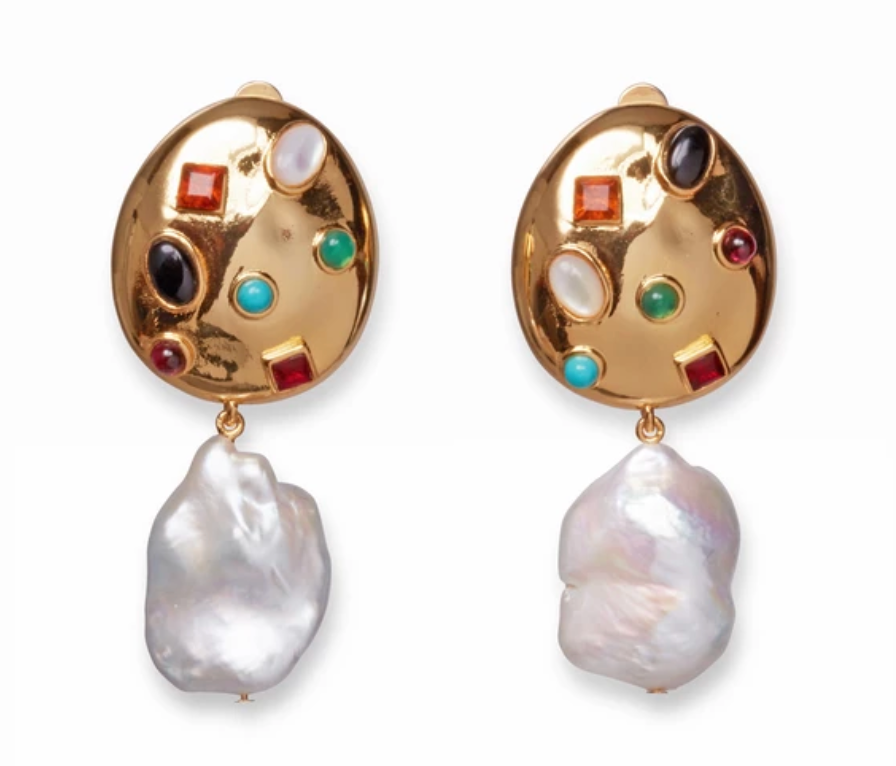Lizzie Fortunato La Bomba Earrings