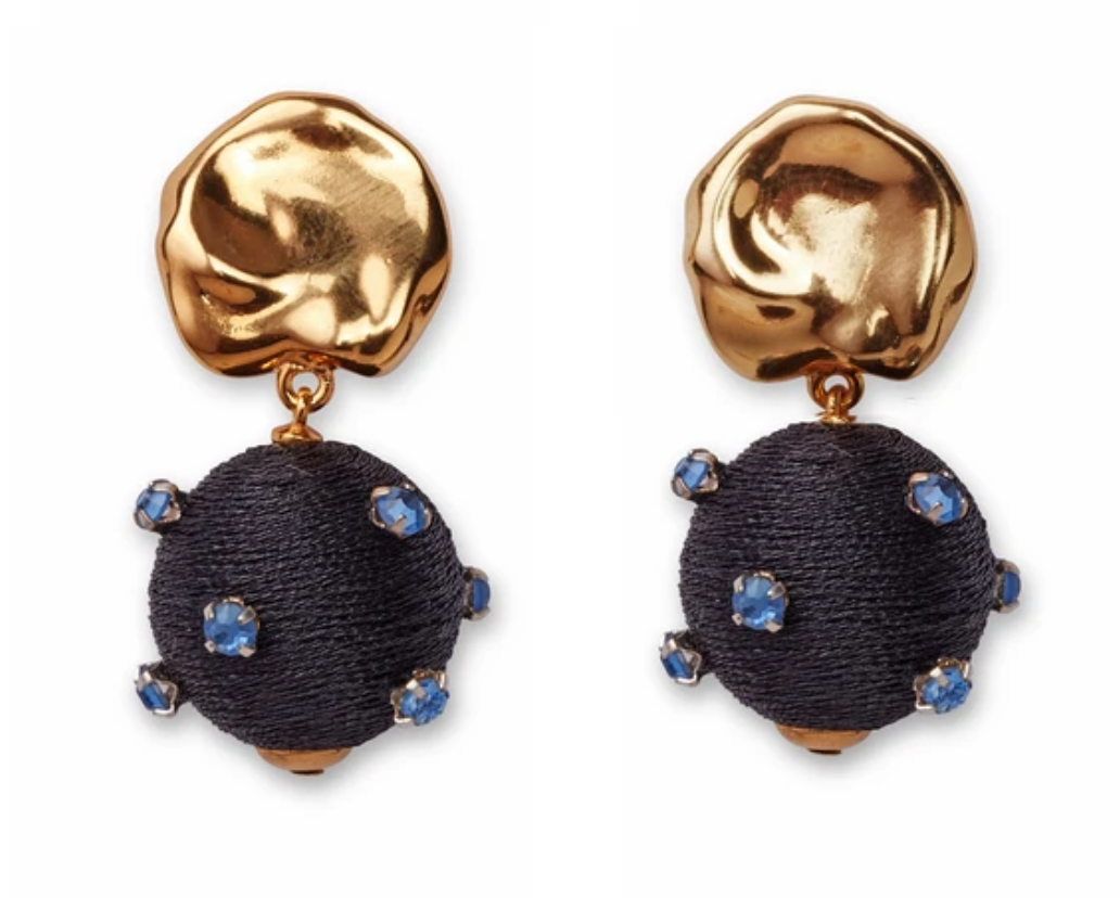 Lizzie Fortunato Sparkler Earrings - Midnight