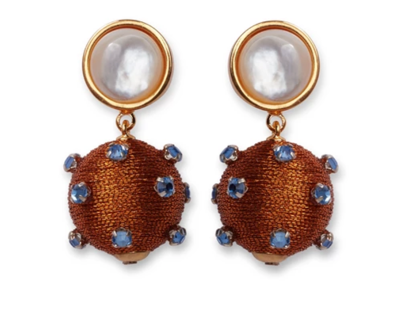 Lizzie Fortunato Sparkler Earrings - Amber