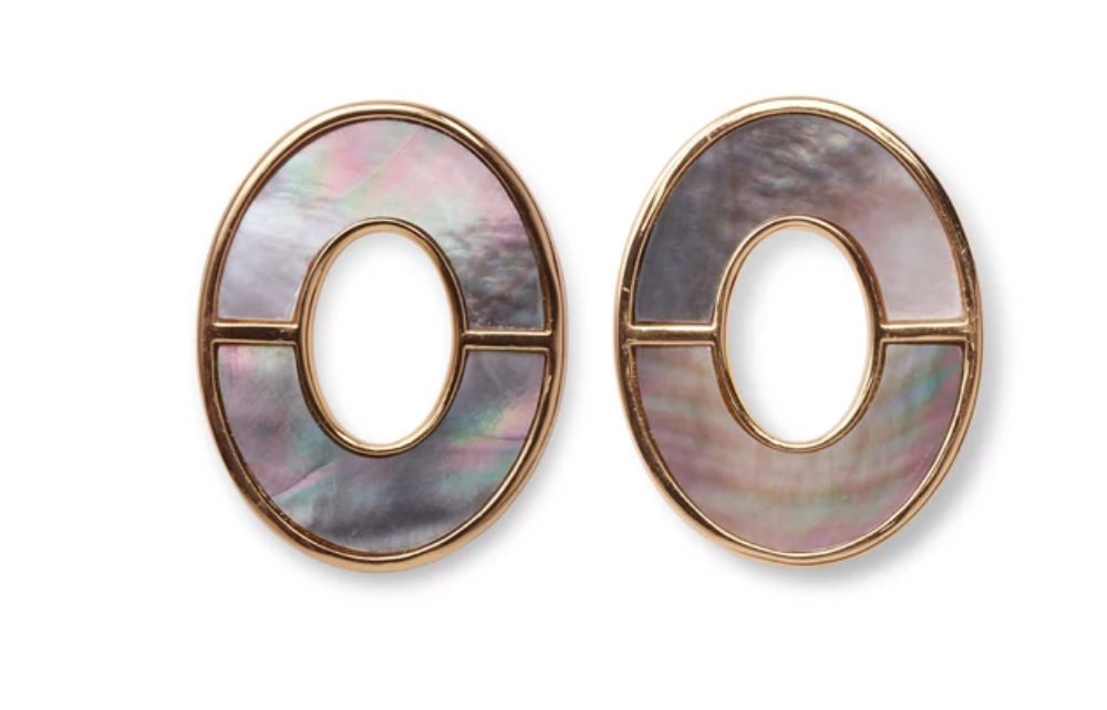 Lizzie Fortunato Symmetry Earrings - Iridescent