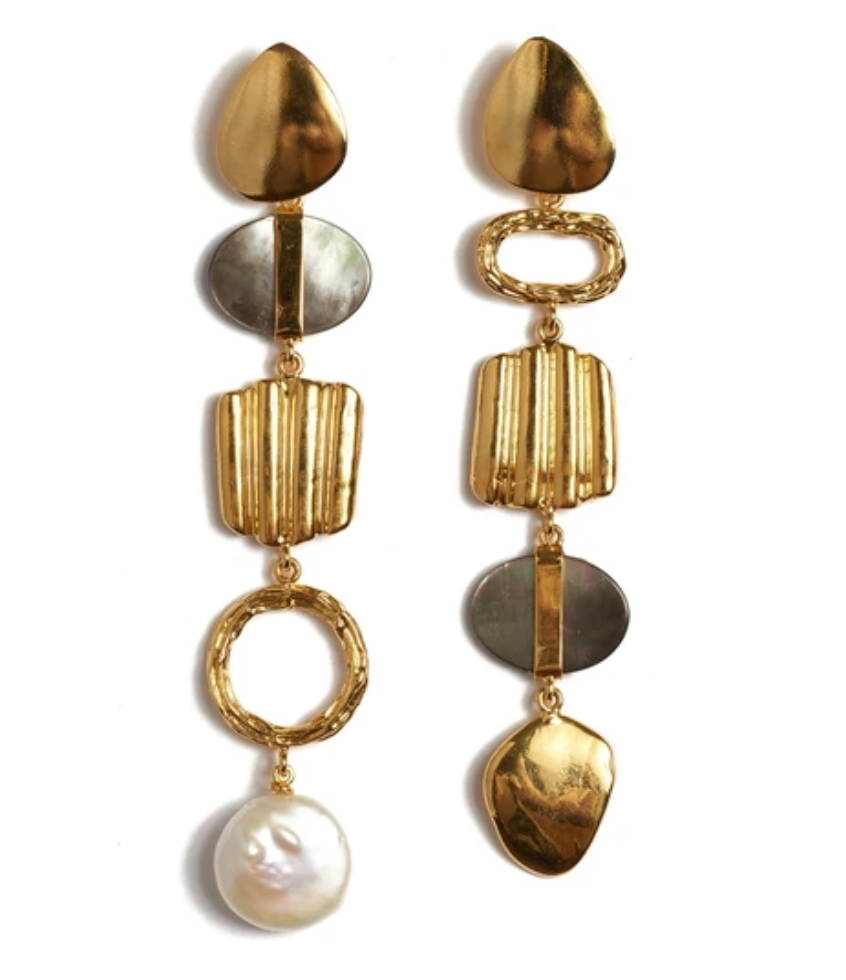 Lizzie Fortunato Treasure Hunt Earrings