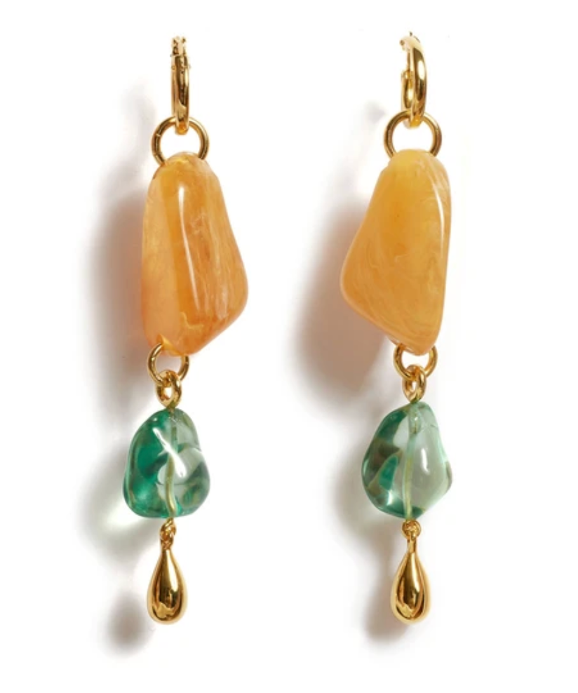 Lizzie Fortunato Waterfall Earrings
