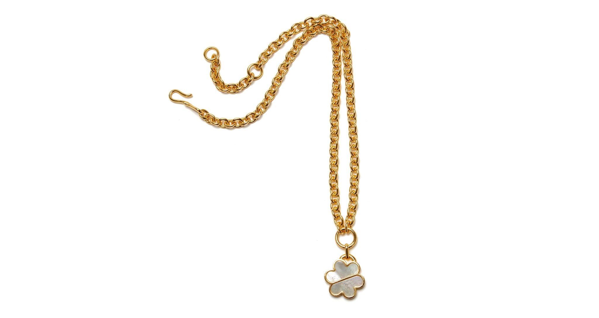 Lizzie Fortunato Daisy Chain Necklace - Mother of Pearl