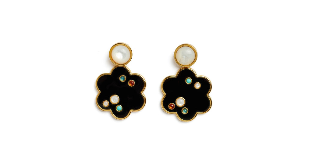 Lizzie Fortunato Poppy Earrings