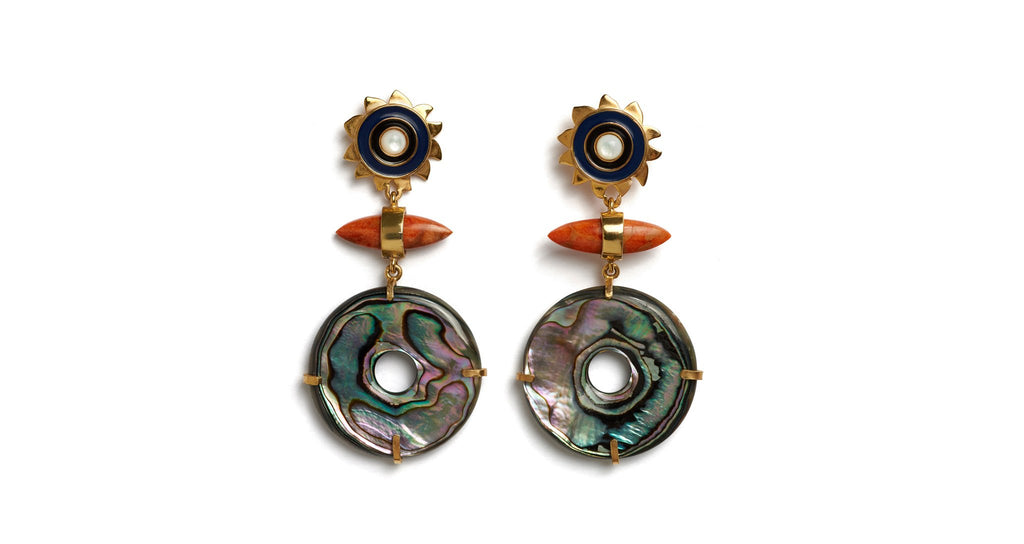 Lizzie Fortunato Saint Florent Earrings