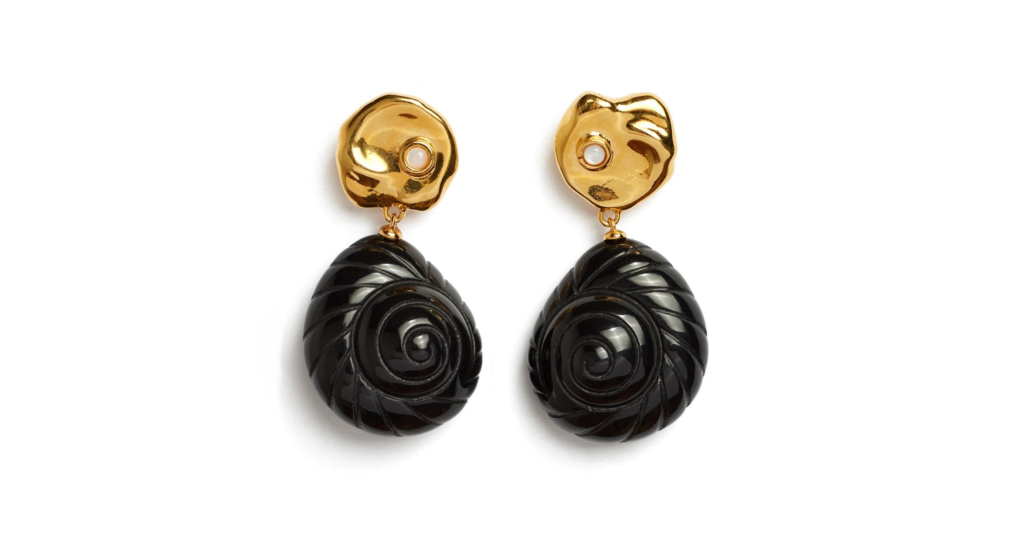 Lizzie Fortunato Venus Earrings