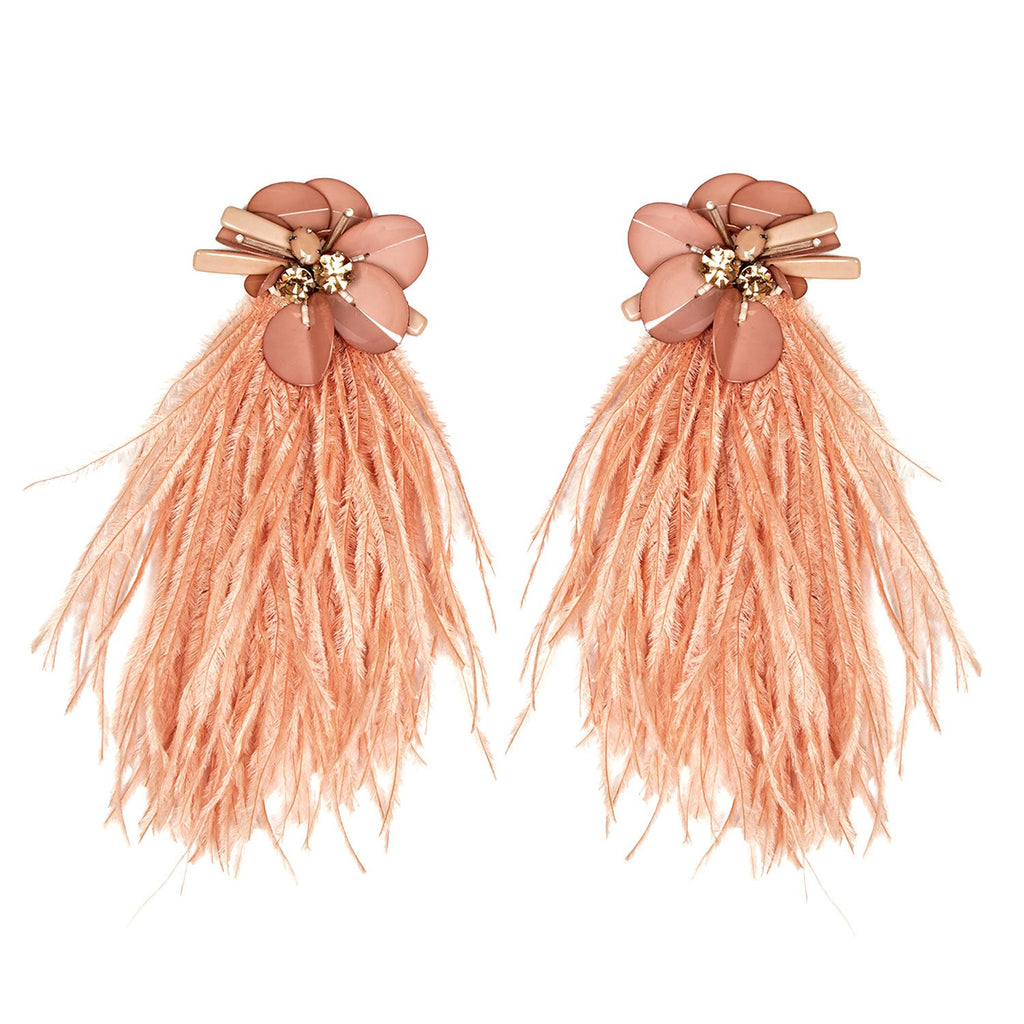Mignonne Gavigan Haley Statement Earrings - Clay Rose