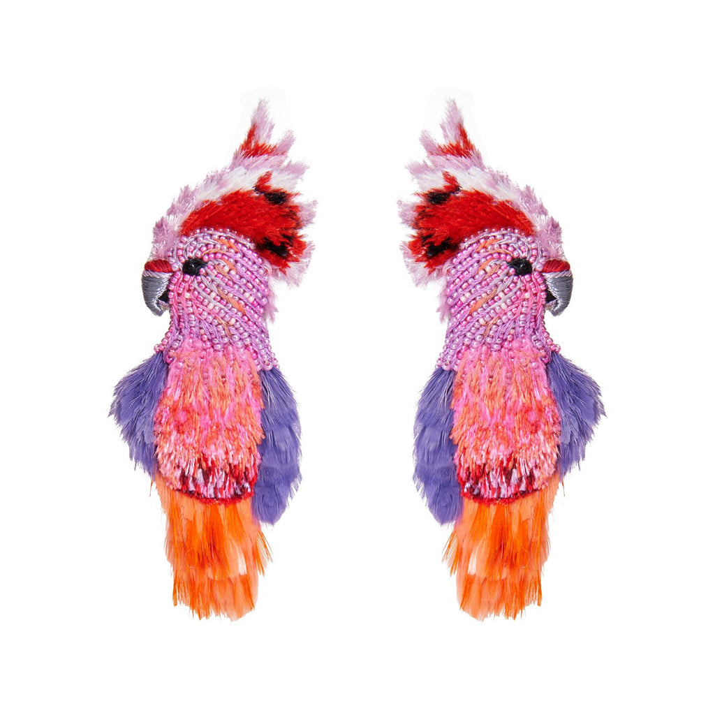 Mignonne Gavigan Cockatoo Earrings