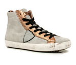 Philippe Model Paris Hightop Mixed Metal - Gold/Rose
