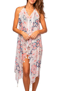 Pool 2 Party Cosmic Drama Maxi - Pink