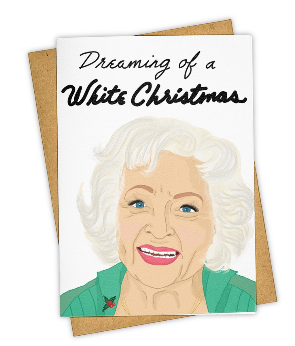 Tay Ham Greeting Cards - White Christmas
