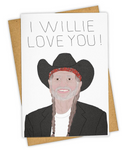 Tay Ham Greeting Cards - Willie Love You