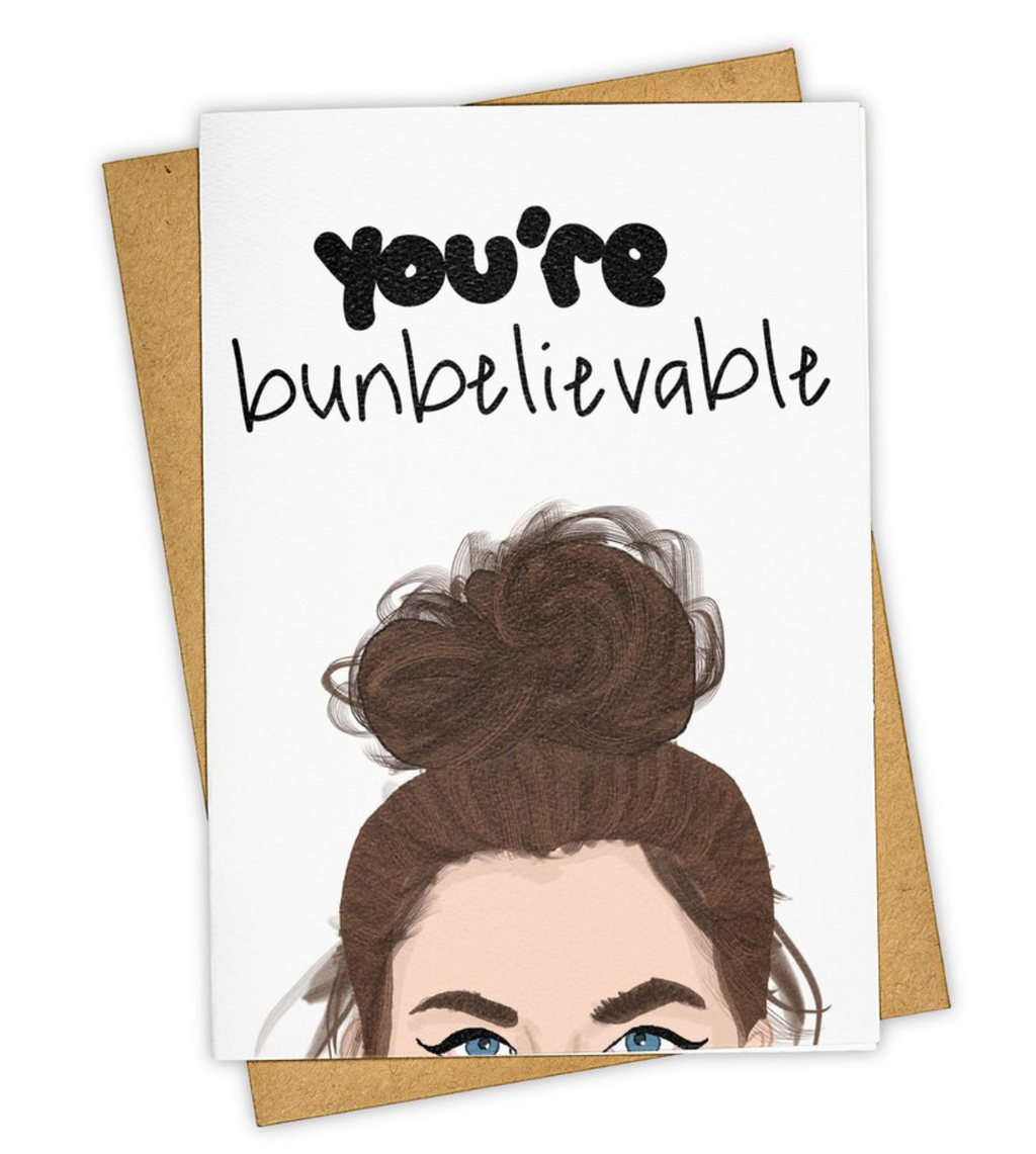 Tay Ham Greeting Cards You're Bunbelievable