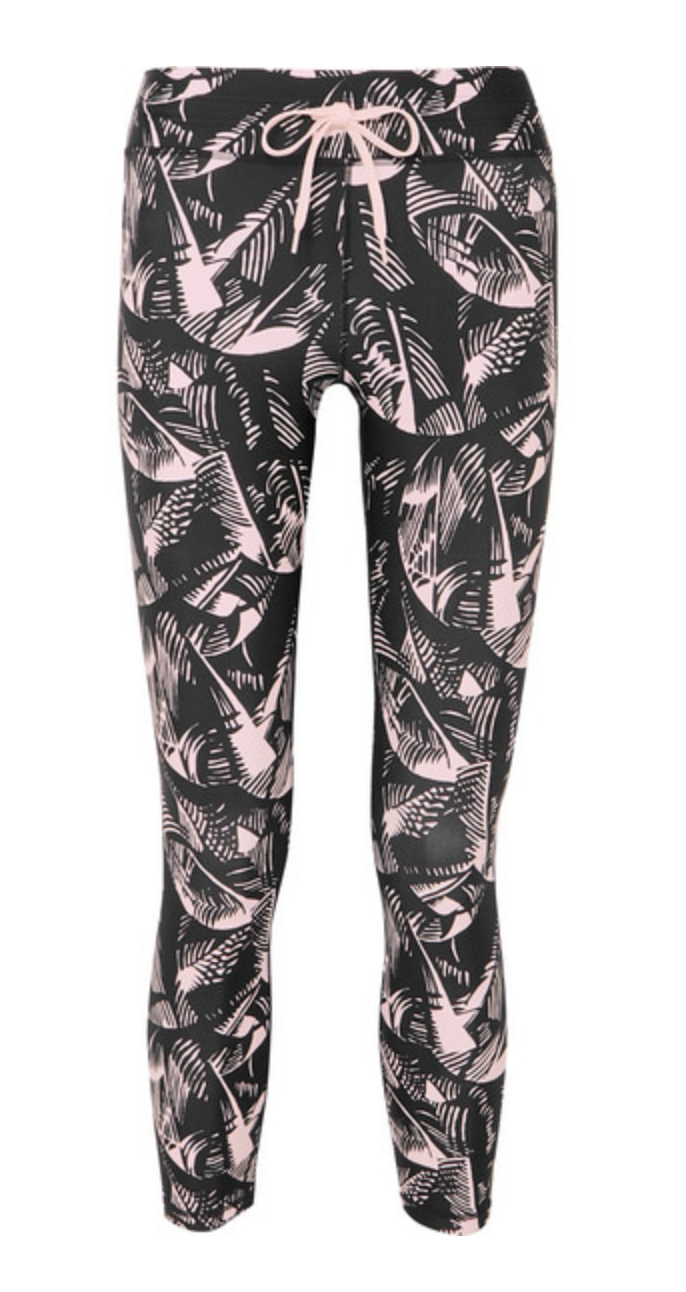 The Upside Japanese Forest Dance Pant - Black/Pink