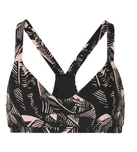 The Upside Japanese Forest Larri Bra - Black/Pink