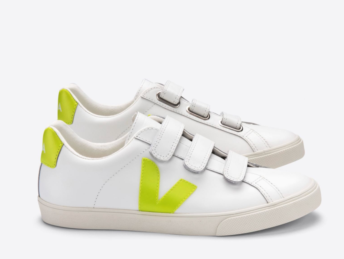 3 Lock Leather Sneakers