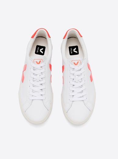Veja Esplar Leather - Orange/Fluo