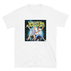 Bushby & Thompson's Wrestling Adventure | T-Shirt (White/Black)