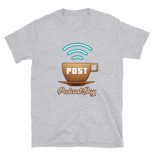 POST Podcast Day 2021 Event Tee (Grey/Black)