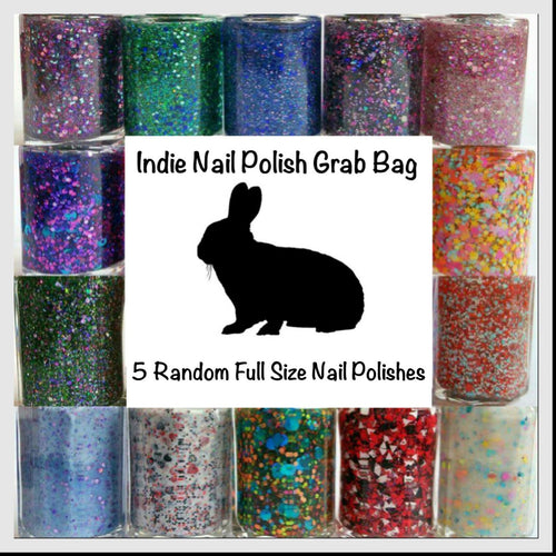 5 Full Size Nail Polish Grab Bag