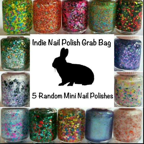 5 Mini Nail Polish Grab Bag