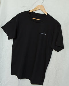 HOKK fabrica Embroidery Logo T-shirt In BLACK