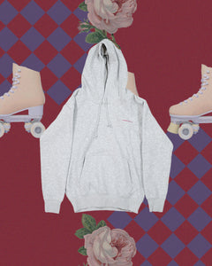 HOKK fabrica Embroidery Logo Hoodie In GREY