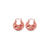 Anting Mini Capung Collection Hoop Mini Earrings Rose Gold