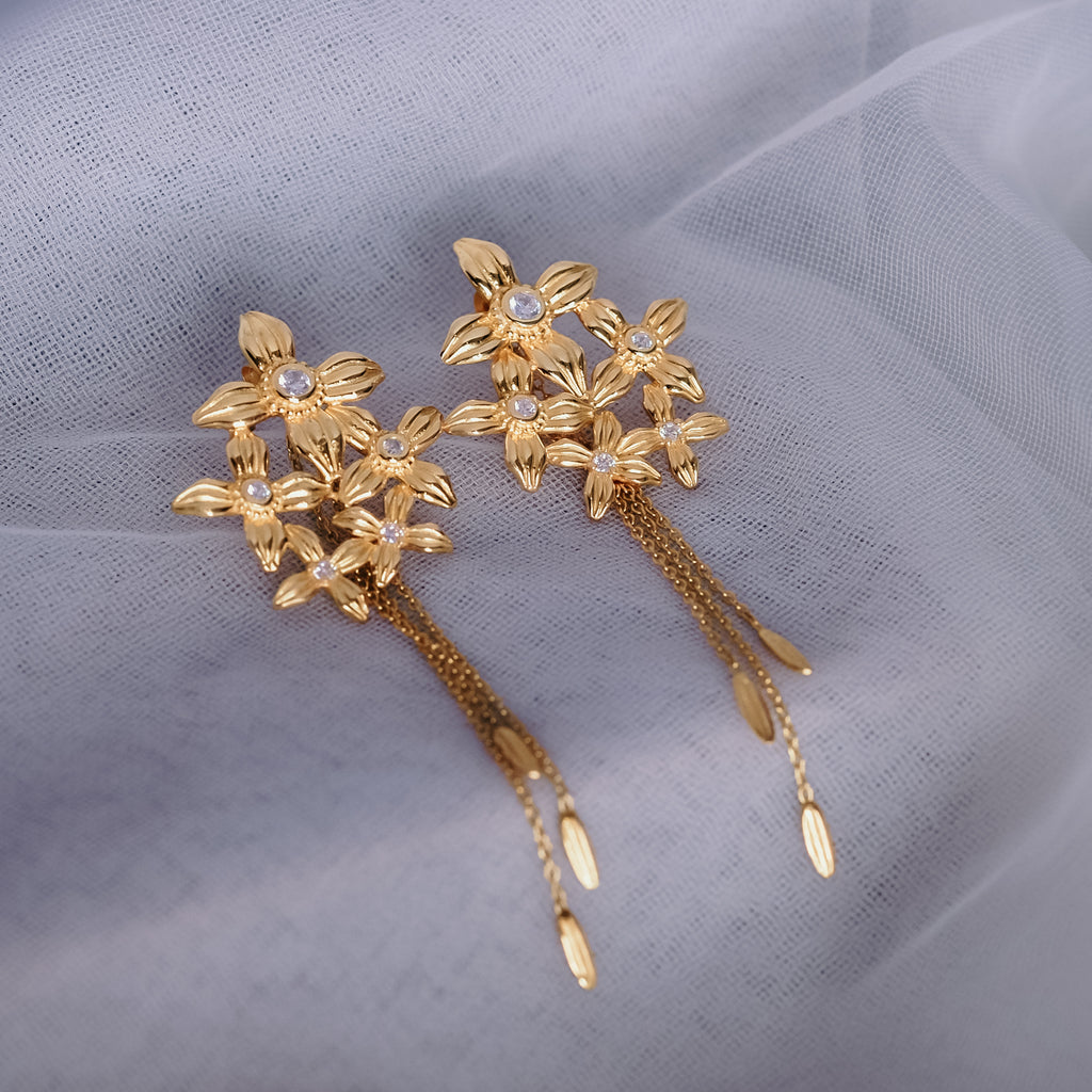 Anting Koleksi Asoka Chandelier Earrings