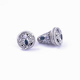 Anting Capung Bali Silver Traditional Balinese Earrings (small)
