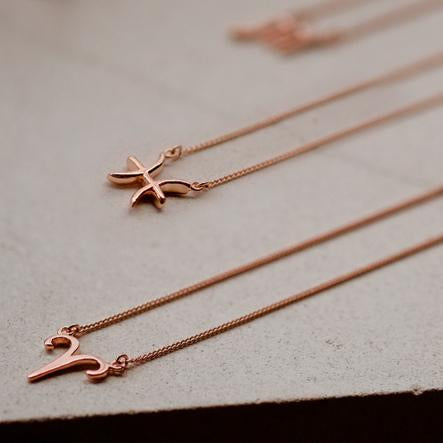 Zodiac Collection in Rose Gold