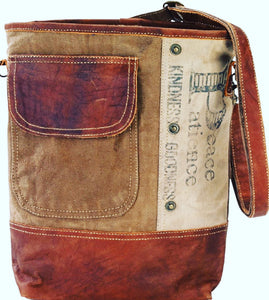 Peace and Patience Crossbody Shoulder Bag - The Wall Kids, Inc.