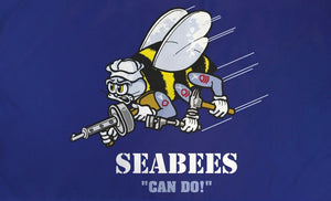 Sea bees 3x5 flag - The Wall Kids, Inc.