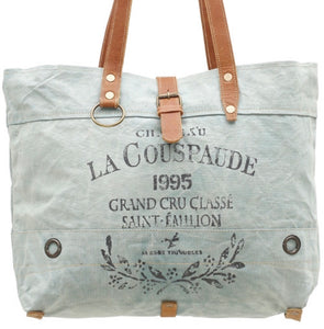 La Couspaude Canvas Bag made from Military Tent and Truck Canvases - The Wall Kids, Inc.