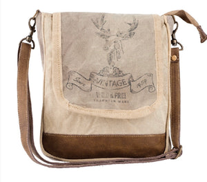 WILD AND FREE CANVAS CROSSBODY / SHOULDER BAG - The Wall Kids, Inc.