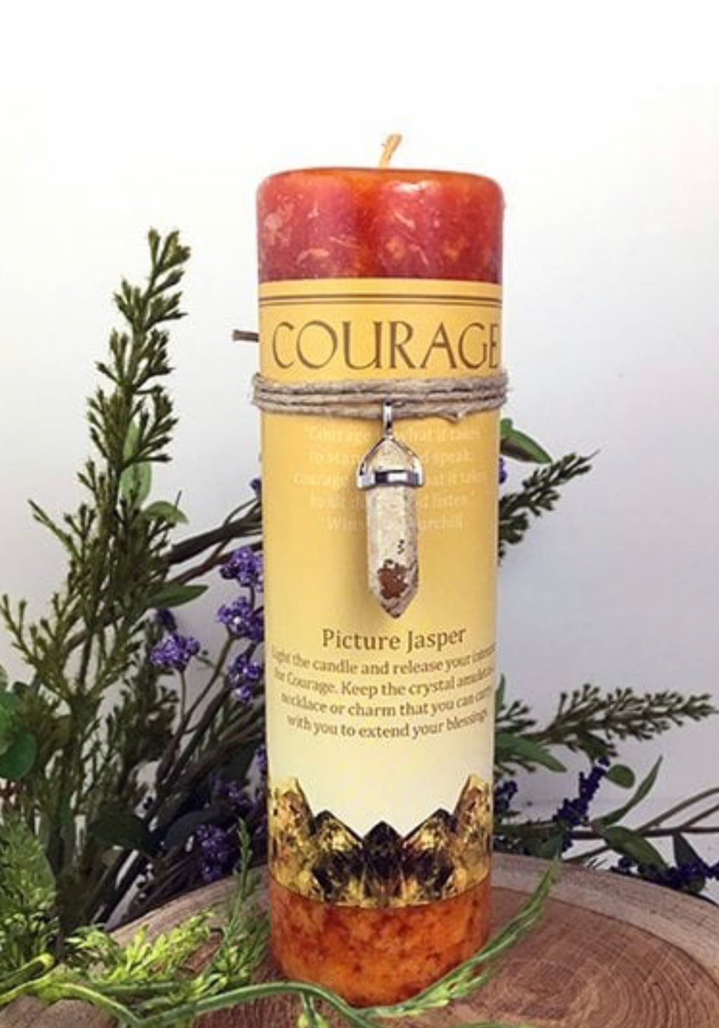 Candle (Courage).   Picture Jasper - The Wall Kids, Inc.