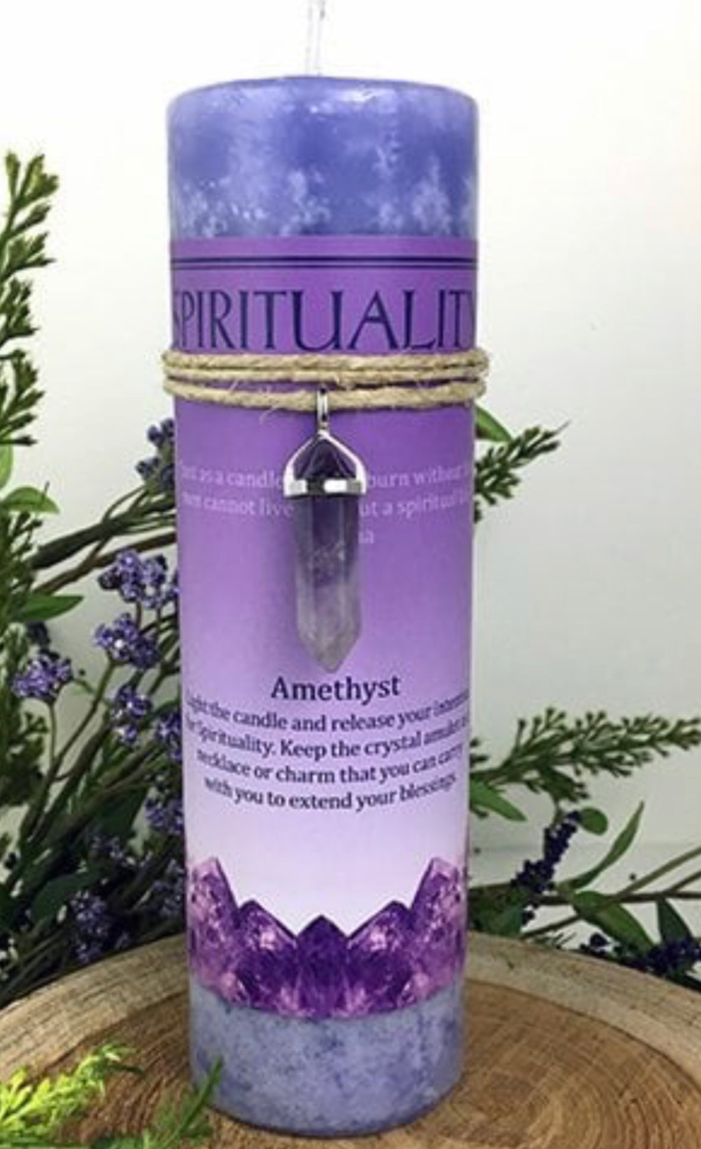 Candle (Spirituality).   Amethyst - The Wall Kids, Inc.