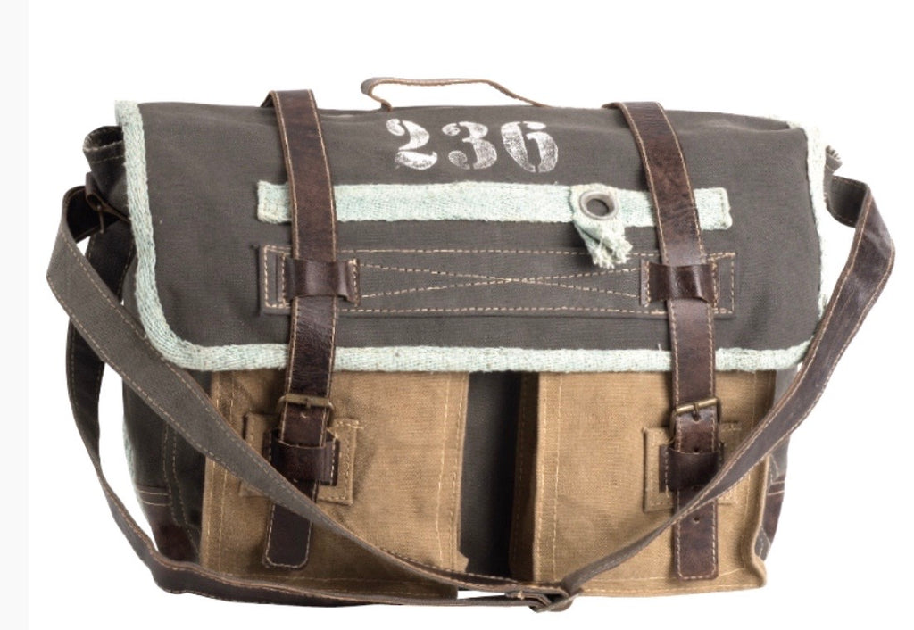 236 MESSENGER CANVAS BAG - The Wall Kids, Inc.