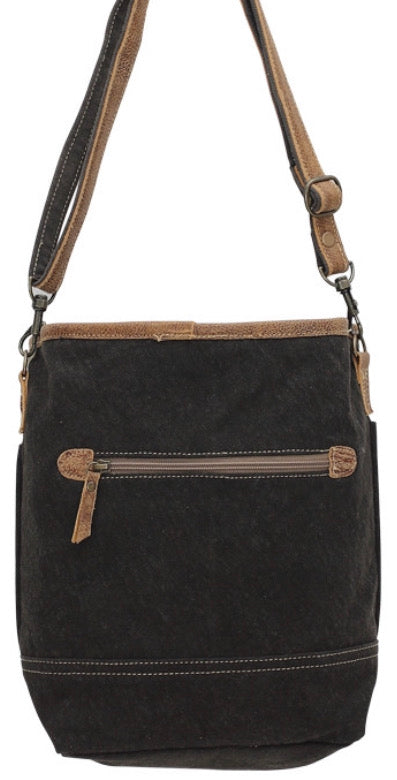 PEACE & PATIENCE CROSS BODY  SHOULDER CANVAS BAG - The Wall Kids, Inc.
