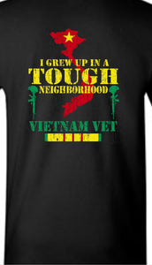 Vietnam Vet Tough Neighborhood T-Shirt - The Wall Kids, Inc.