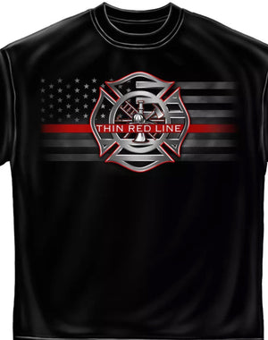 Stand For The Flag Fire T-Shirt