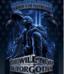 Never Be Forgotten 50X60 Fleece Blankets - The Wall Kids, Inc.