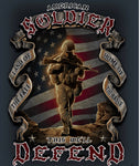 American Solider 50X60 Fleece Blanket - The Wall Kids, Inc.