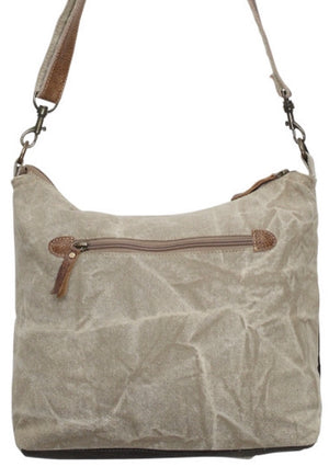 DO NOT HANDLE WITH CARE CANVAS CROSSBODY SHOULDER BAG - The Wall Kids, Inc.